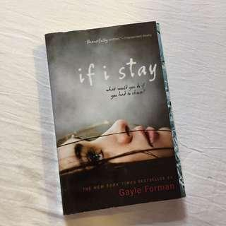 If I Stay By Gayle Forman #MFEB20