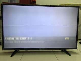Faulty Tv LED LG 43""