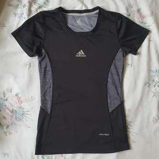 Adidas black drifit clima365 shirt