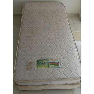 King Koil mattresses + bedframe/ divan