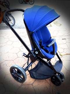 MARKDOWN! @Pre-Loved QUINNY MOODD (Midnight Blue) Baby Stroller