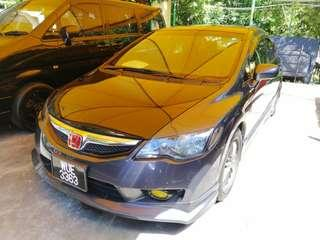 Honda civic 1.8 auto 0162191010