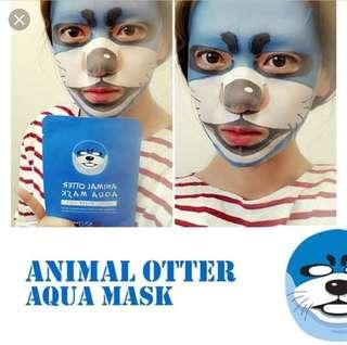 Animal Otter Aqua Mask