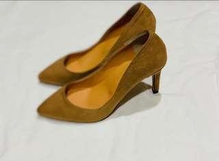 🚚 降價-全新韓版駝色高跟鞋