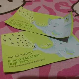 Blackhead clear nose pack original