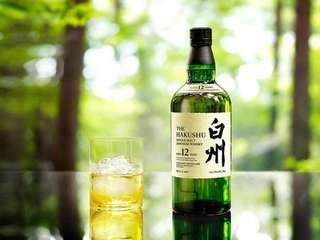 Suntory-Hakushu 12Y WHISKY 三得利-白州 12年威士忌