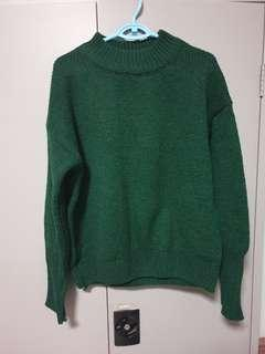 🚚 Green Knitted Top