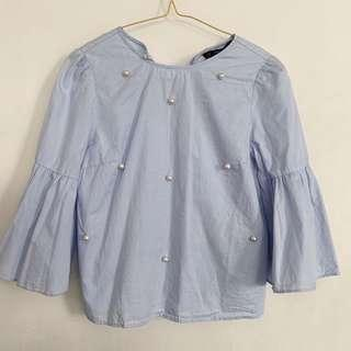 BN Zara Blue Top