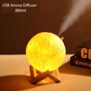 USB Aroma Diffuser Essential Oil - 880ml (Orbilia)