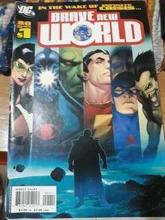 Brave New World DC comics