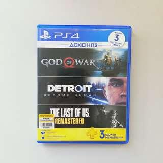 PS4 Games - Hits Bundle Detroit