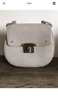 Forever new taupe crossbody bag