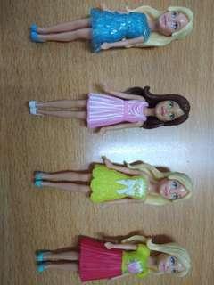 Minie Barbie Dolls