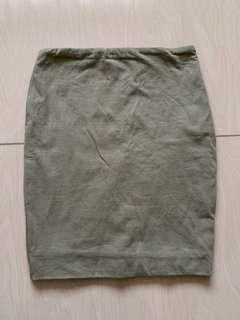 bodycon cotton on skirt #MFEB20