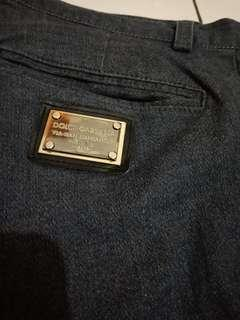 Dolce pants celana jeans lycra made in italy