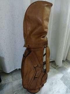 Full Leather Golf Bag