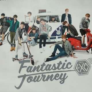 EXO 2013年官方掛曆現貨(國際版)