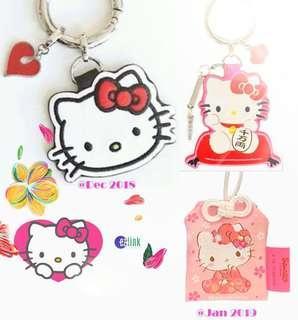 🚚 Ezlink Hello Kitty Charm 3pc Bundle