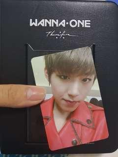 🚚 WTS Wanna One Therefore Photocard Album with Woojin PC