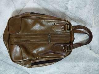 Full leather Shoe Bag