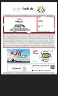 Maroon5 tickets for sale