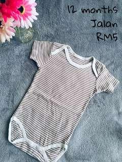 Striped Baby Romper #MFEB20