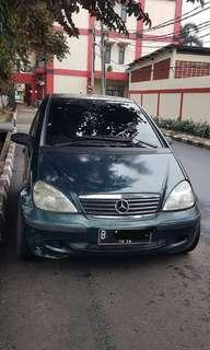 Mercy A 140 Manual thn 2002