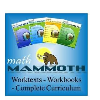 Math Mammoth (Blue Series)
