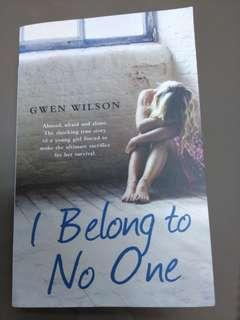 I Belong to No One - Gwen Wilson