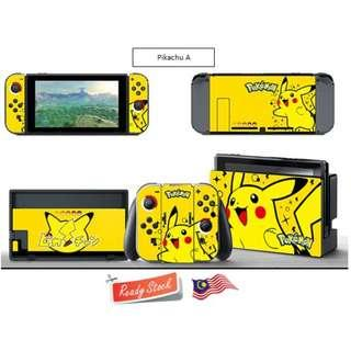 Colourful Vinyl Decal for Nintendo Switch - Pelekat