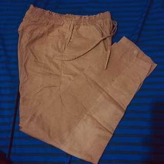 Milo choco pants celana wanita