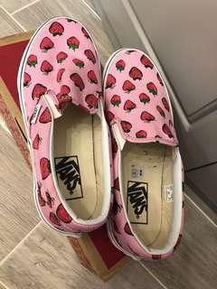 Vans粉紅鞋 情人節之選