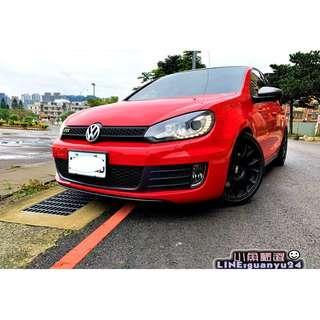 2012年Volkswagen Golf GTI 2階晶片/ R8考耳 / 米其林PS4 / BBS鋁圈 /當派頭段