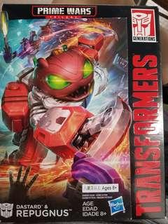 全新原裝行貨 hasbro 變形金剛transformers prime Wars REPUGNUS