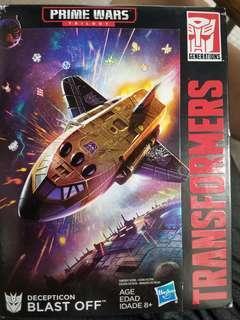 全新原裝行貨 hasbro 變形金剛transformers prime Wars BLAST OFF
