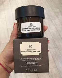 339k SALE THE BODY SHOP MASKER CHINESE RICE AND GINSENG