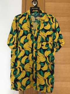 BANANA MAN SHIRT!! One size