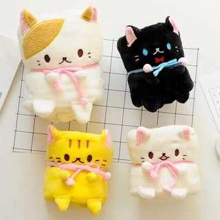 Animal Blanket (Cat - Neko Chan)