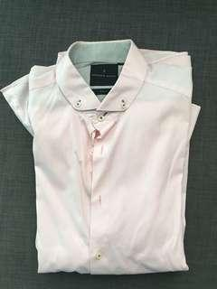 Benjamin Barker Pink Shirt Slim Fit 17-42
