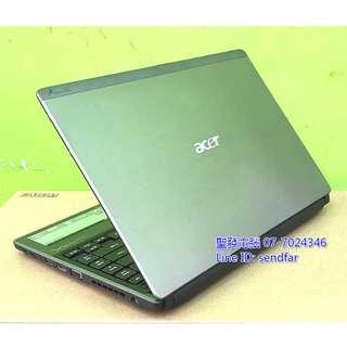 🚚 高效獨顯商務 ACER AS3820TG i5-460M 4G 500G 獨顯 13吋筆電 聖發二手筆電