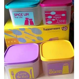 tupperware modular mates set (2.6liter) with box