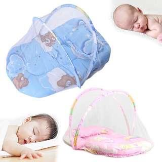 New 1pcs Portable Baby Infants Crib Netting Mosquito Insect Net Pillow Mattress