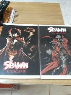 Spawn Endgame Vol. 1 and 2