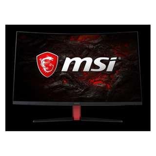 【32吋螢幕】微星 MSI AG32CQ WQHD 144Hz 1ms 2K 電競 曲面螢幕 178°無邊框 盒裝原廠保