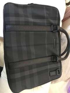 Burberry lap top bag