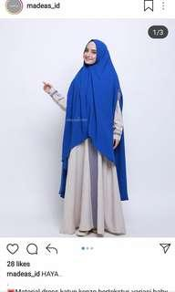 Haya Dress include Khimar by Madeas_id