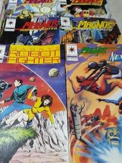 Valiant Comics Magnus Robot Fighter and Nexus set