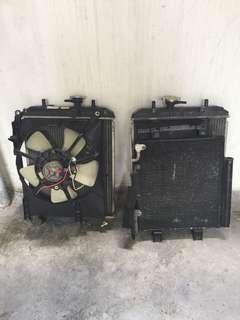 radiator/fan/condensor viva