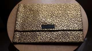 Clutch Bag gold crack