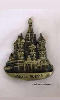 Moscow Russia 🇷🇺 FRIDGE Magnet